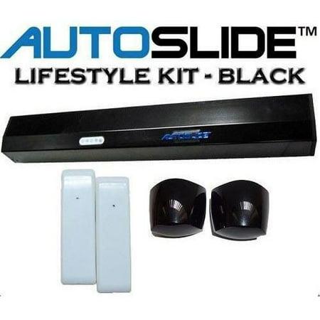Autoslide Motion Sensor Pet Door Kit Black 19 Quot X 2 5 Quot X 2