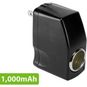 Cellet 1000ma Ac Wall To Dc Car Cigarette Lighter Port Converter Female Adapter For Smartphone