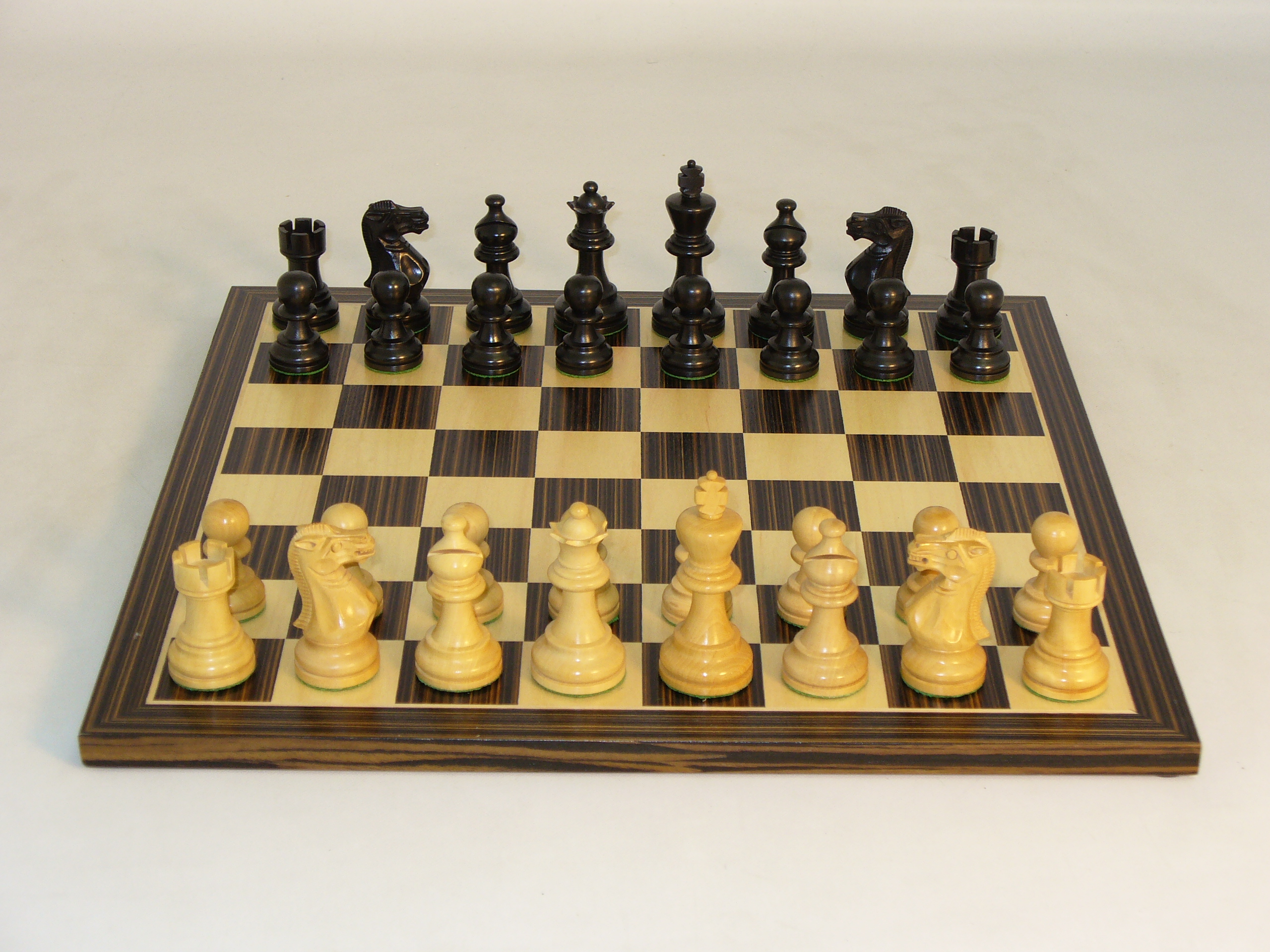 Worldwise Blk American Emperor Chess Set by World Wise Imports