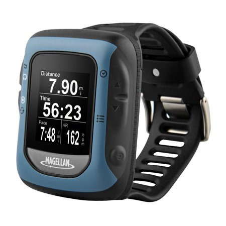 Magellan Switch Crossover Gps Watch With Heart Rate Monitor  Black