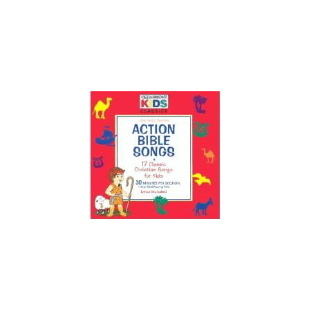 Action Bible Songs: 17 Classic Christian Songs for Kids - Songs For Halloween For Preschoolers