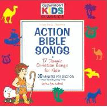 Action Bible Songs: 17 Classic Christian Songs for Kids (Audiobook)