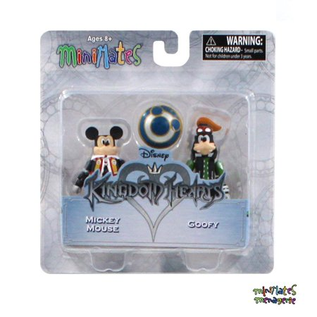 Minimates Kingdom Hearts Series 1 Mickey Mouse & Goofy 2-Pack