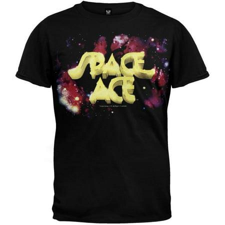 space ace logo t shirt. Black Bedroom Furniture Sets. Home Design Ideas