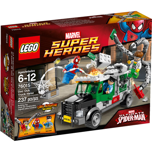 LEGO Super Heroes Doc Ock Truck Heist Play Set