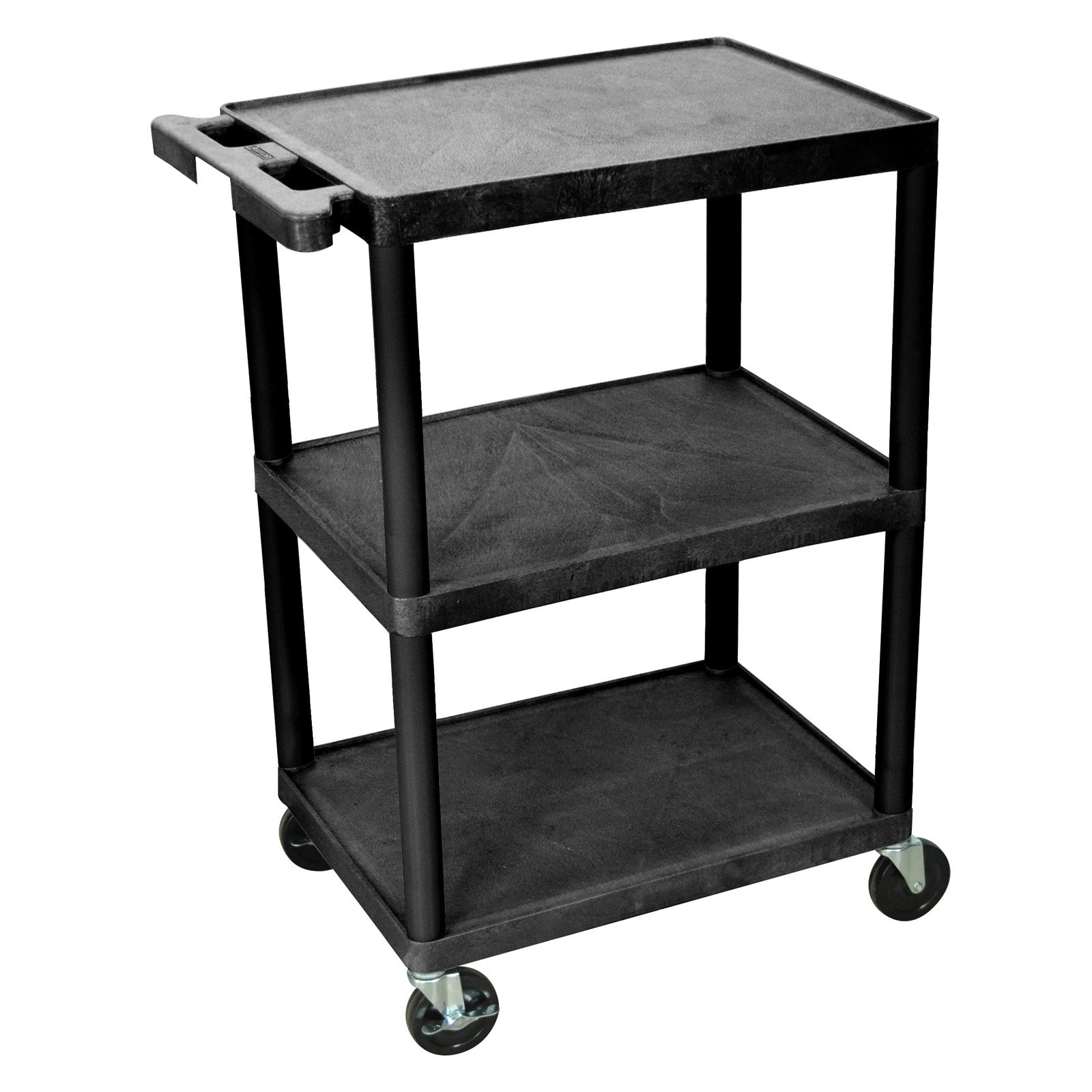 Luxor 3-Shelf Utility Cart