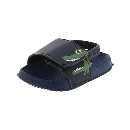 The Children'S Place Dino Slide Sandal Navy Ankle-High - 2M (Dinosaur Place Coupons)