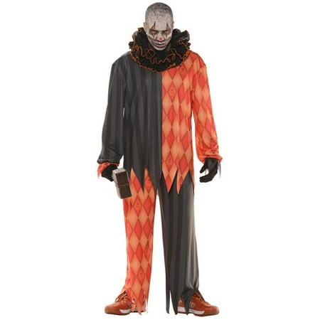 Morris Costume UR28600XXL Evil Clown Adult Costume, 2XL - Halloween Wars Evil Clowns Judges