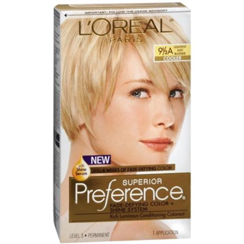 L Oreal Superior Preference 9 1 2a Lightest Ash Blonde