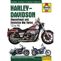 Harley-Davidson Shovelhead and Evolution Big Twins 1970 to 1999