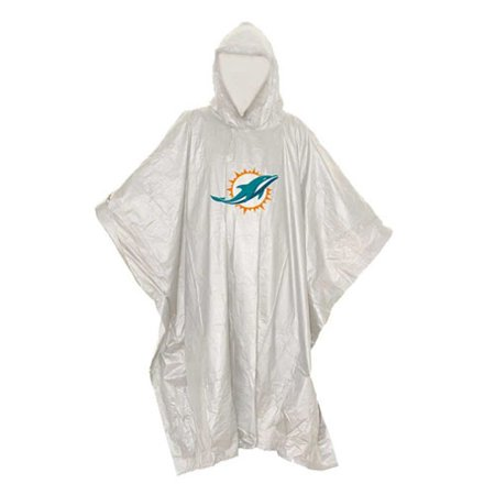 Miami Dolphins The Northwest Company Lightweight Poncho - No Size