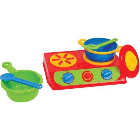 Gowi Toys Austria Double Cooktop Set