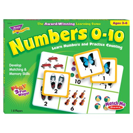TREND enterprises, Inc.® Numbers 0-10 Match Me®