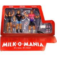 Milk-o-Mania (Kurt Angle, Stone Cold & Stephanie McMahon) - WWE Epic Moments Toy Wrestling Action Figures