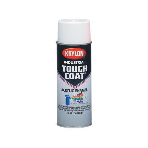 Krylon Tough Coat  Alkyd Enamels Brightred Acrylic (Set of 12)