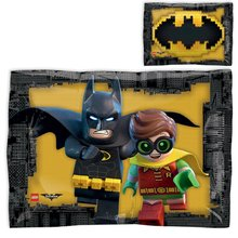 LEGO Batman Metallic Foil - Lego Batman Birthday Party Supplies