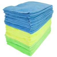 Zwipes Microfiber Cleaning Cloths,Multi-color, 48-Pack