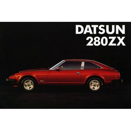 1981 Datsun 280ZX sales brochure Print Wall Art