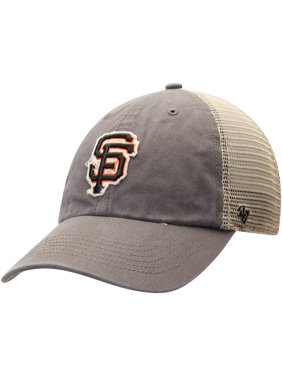best service 0c9cc 0dd84 Product Image San Francisco Giants  47 Franchise Trucker Hat -  Black Natural.