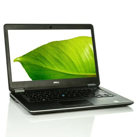Refurbished Dell Latitude E7440 Laptop  i5 Dual-Core 8GB 256GB SSD Win 10 Pro B v.WCA