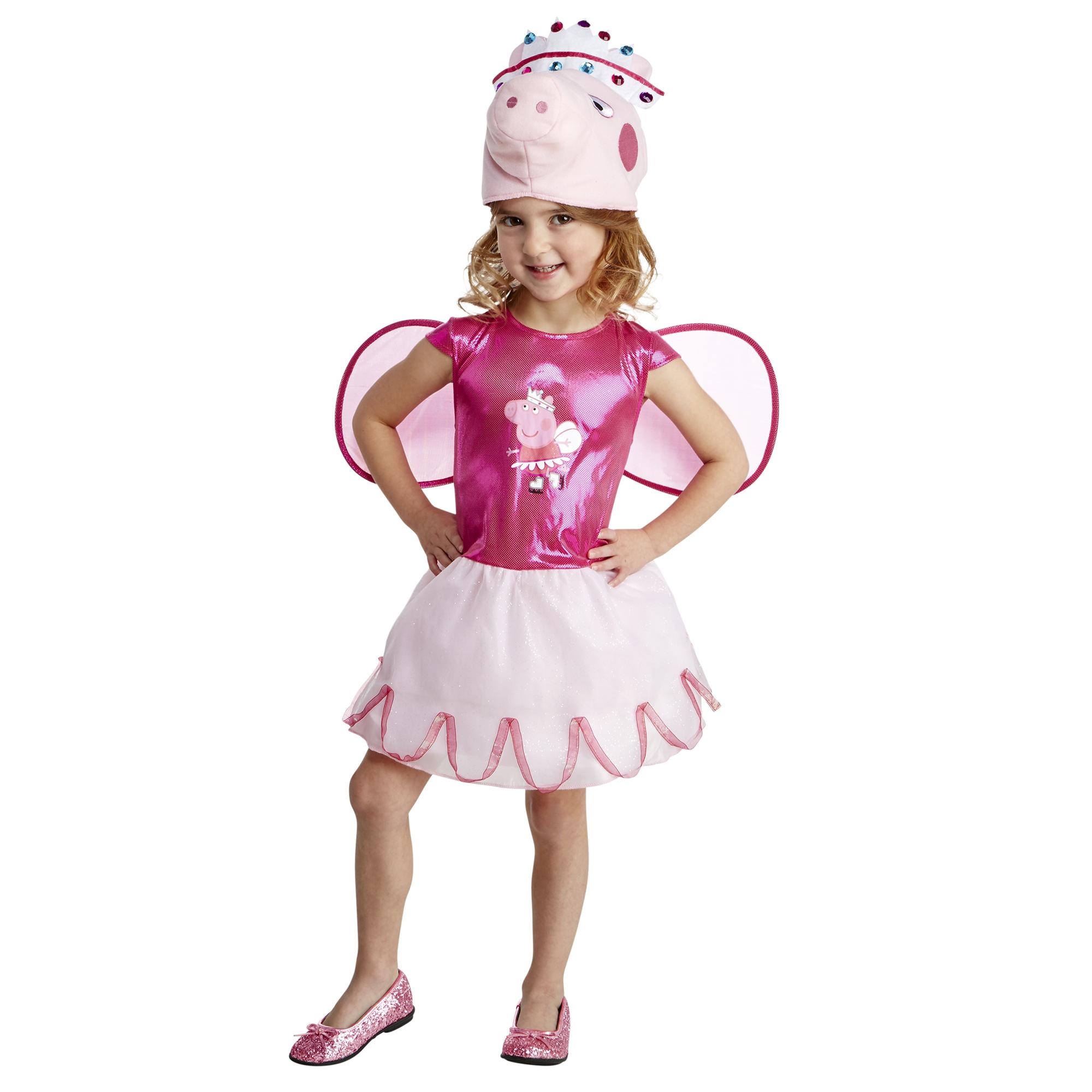 toddler peppa pig skater princess 3t4t halloween dress up