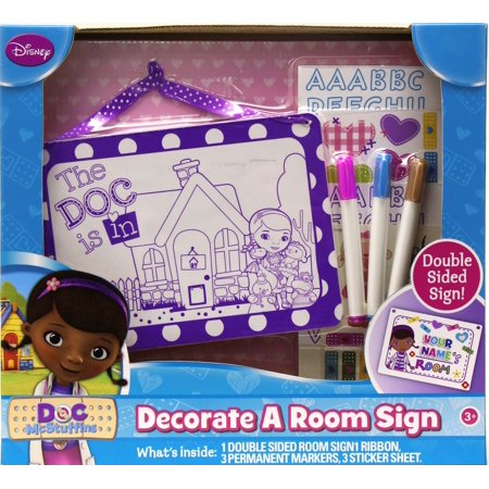 Tara Toy Doc McStuffins Decorate a Room - Toys Sign