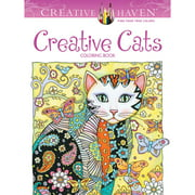 Dover Creative Haven Coloring Book, Creative Cats
