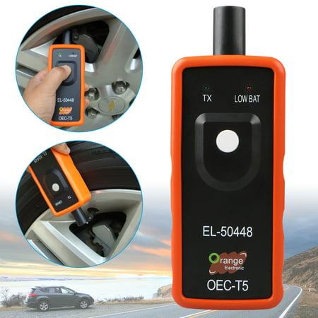 EEEkit EL-50448 TPMS Reset Relearn Tool Auto Tire Pressure Monitor Sensor for GM Car, On-Board Diagnostic OBDII (Tpms Sensor Tool)