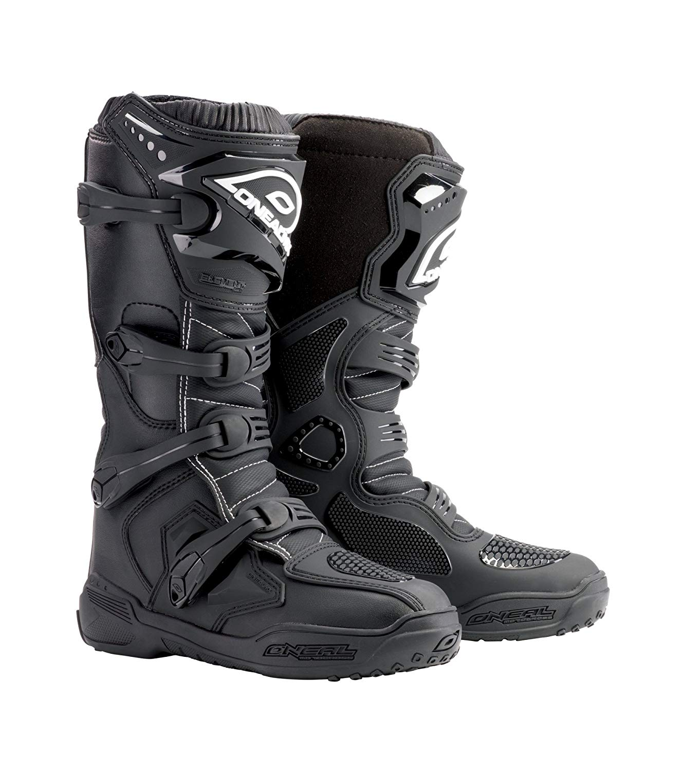 O'Neal Men's Element Boots (Black, Size 14)