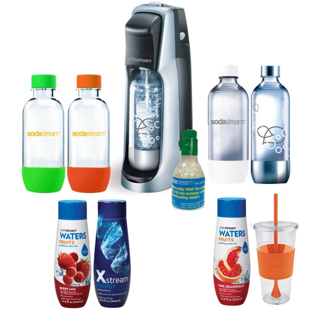 Sodastream Fountain Jet Soda Maker Exclusive Kit - Includ...