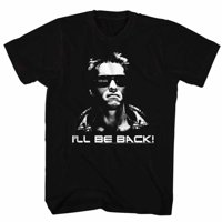 Terminator Movies I'Ll Be Back Adult Short Sleeve T Shirt
