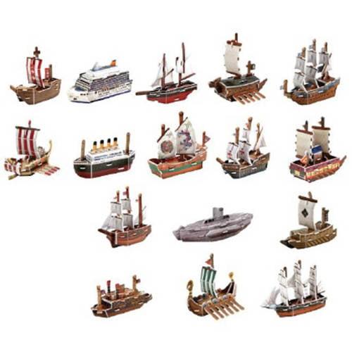 Image of World Famous 3D Puzzle Mini Ship Series, 180-Pieces