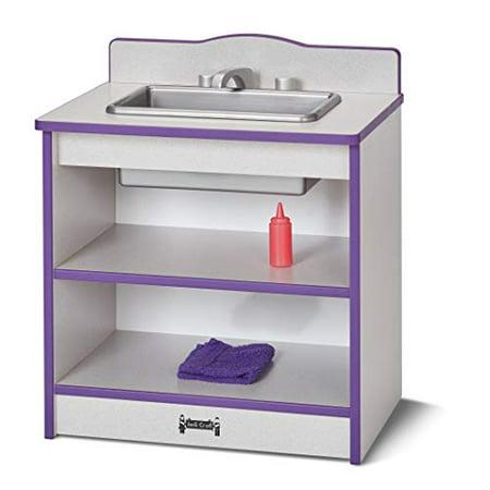 Rainbow Accents 2428JCWW004 Toddler Kitchen Sink - Purple