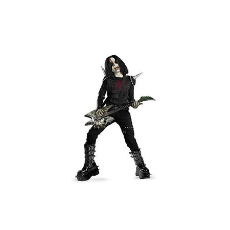 Disguise Boys Metal Mayhem Rotten Rocker Zombie Costume As Shown  Child Size...](Rocker Chick Costume)