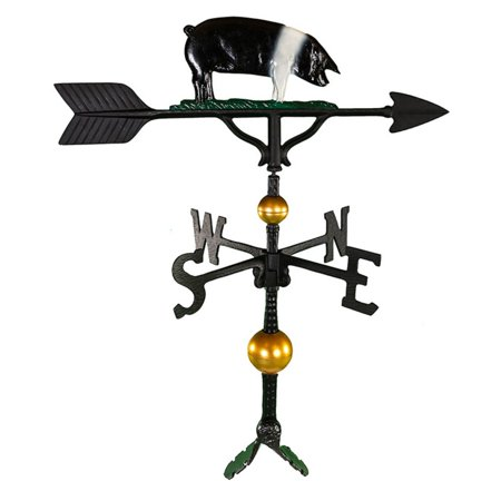 Deluxe Color Pig Weathervane - 32 in.