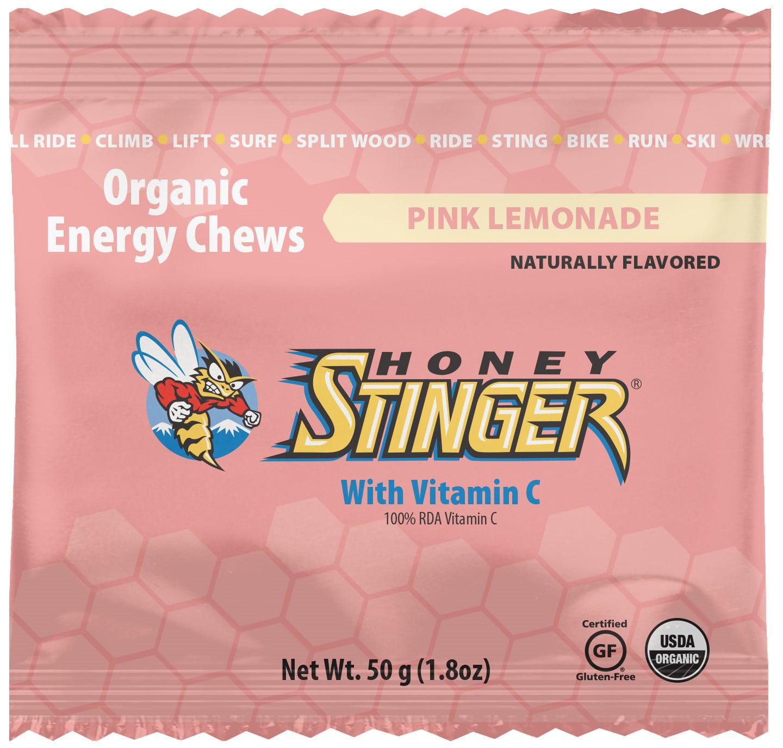 Honey Stinger Energy Chews Pink Lemonade - 12 - 1.8oz (50...