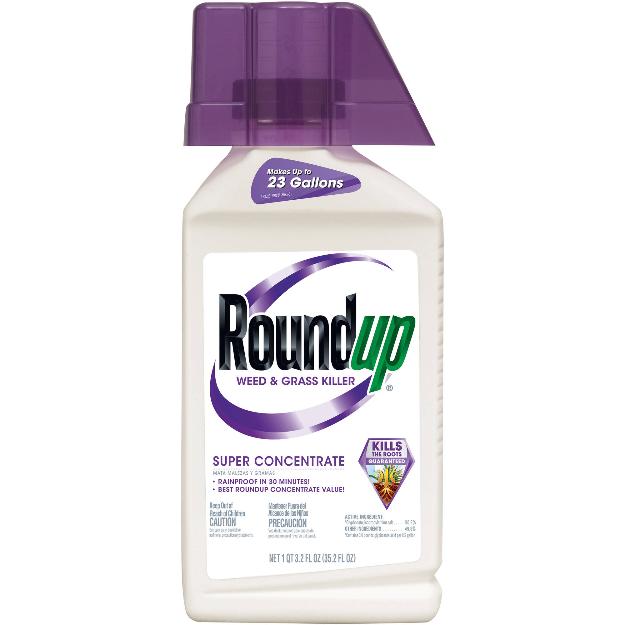 Roundup Weed & Grass Killer Super Concentrate. 35.2 oz