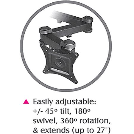 Siig Articulating Triple Monitor Desk Mount 13 Quot To 27