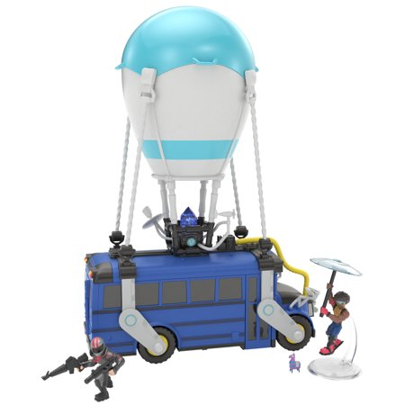 "Fortnite Battle Royale Collection: 13"" Battle Bus + 2 Exclusive Figs"