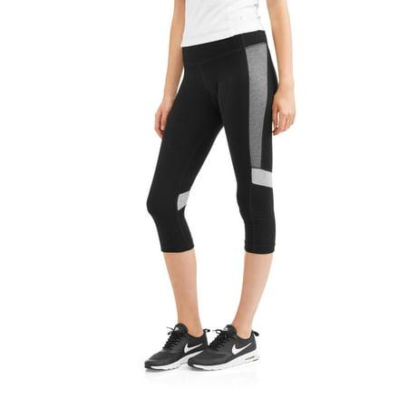 Image of Athletic Works Women's Active Colorblock Capri Legging