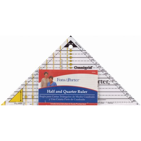 Fons & Porter Half & Quarter Ruler Set-