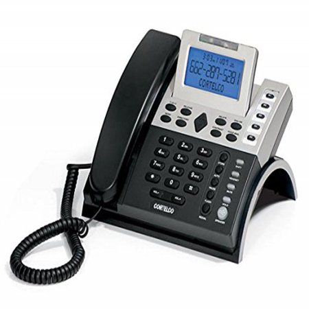 Cortelco 121000-TP2-27S Single-Line Caller Id Business Telephone