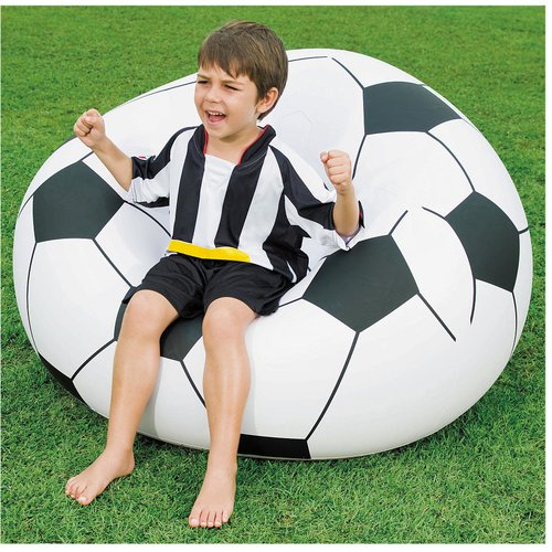Bestway Beanless Inflatable Soccer Ball Chair by Bestway