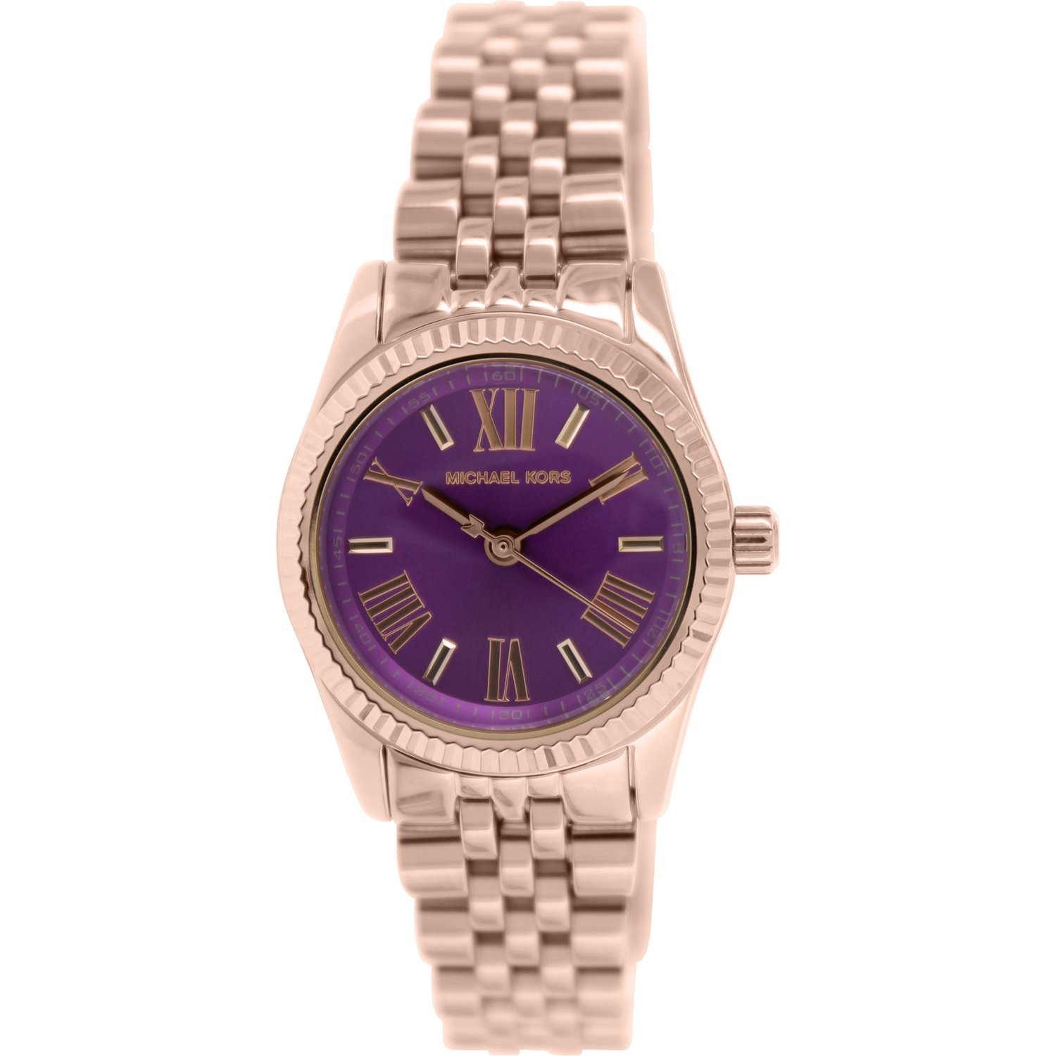 Michael Kors Women's Lexington MK3273 Rose Gold Stainless-Steel Plated Japanese Quartz Fashion Watch