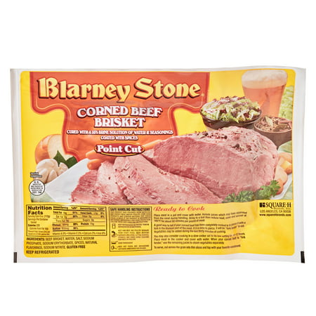 Blarney Stone Corned Beef Brisket Point, 1.90-5.50 lb