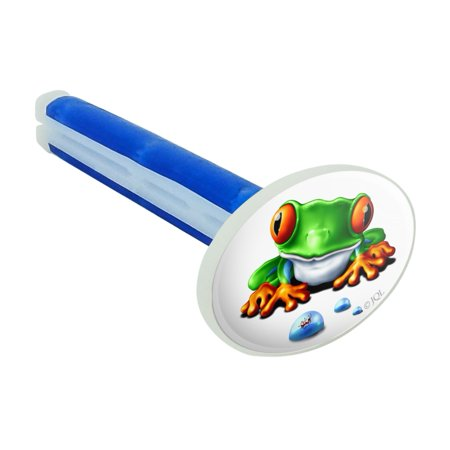 Rainforest Red Eyed Tree Frog and Ant Car Air Freshener Vent Clip - New Car Scent