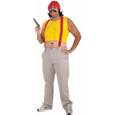 Adult Up In Smoke Cheech Marin Retro 70s or 80s Costume Standard Large 42 - 80s Attire Male