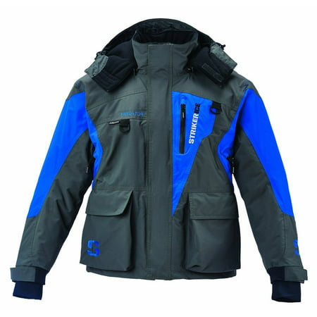 Nashville Predators Jacket (STRIKER ICE Predator Jacket, Color: Gray/Blue)