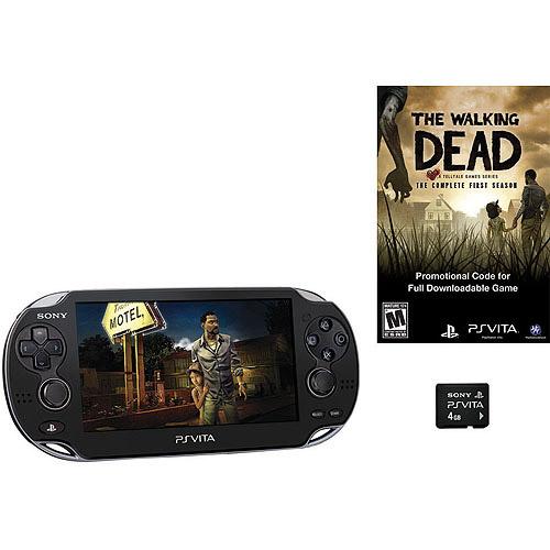 PlayStation Vita 3G/Wi-Fi - The Walking Dead 4GB Bundle