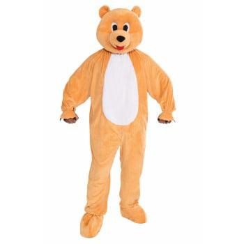 PROMO-MASCOT-HONEY BEAR - Bear Mascot Suit